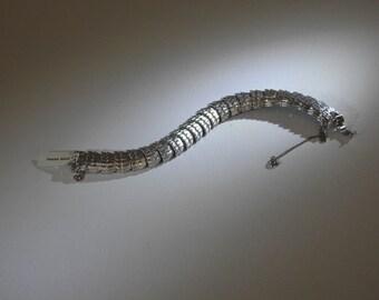 Silver Fringe Bracelet