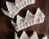 Three Knit Crowns SPECIAL ORDER for Jane
