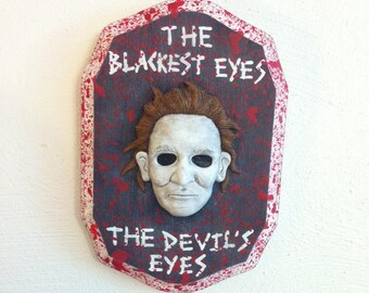 Michael Myers Wall Hanging Sculpture