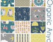 Pre- Order - Organic Anya Collection ONE HALF YARD Bundle -  Fabric by Monaluna from - Six Yards Total