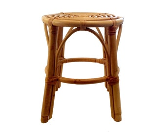 Rattan Stool or Plant Stand