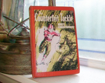Counterfeit Tackle Vintage 1965 Football Book