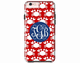 Custom iPhone 7 or iPhone 7 Plus Cases | Personalized Case Mate Tough or Barely There cases iPhone 6, iPhone 6 Plus  & More - Crabs