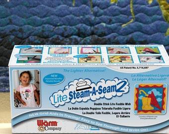 "Lite Steam-A-Seam 2 12""x 36"", Steam-A-Seam, pressure sensitive adhesive"