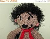 ON SALE - 10% OFF Crochet Toy... Animal  Hedgehog large