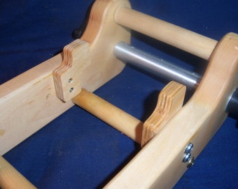 """Rigid Heddle Mini Traveling Loom, Hard Maple without  Tools or Rigid Heddle  -  12"""" Long 8 1/2"""" Wide, 4"""" High"""