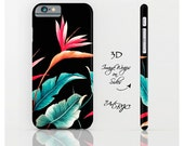 Tropical Floral iPhone 6 Case iPhone 6 Plus Case iPhone 6s Case ArtBJC iPhone 6s Plus Case iPhone 5s Case iPhone SE Bird of Paradise, 277
