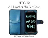 HTC 10 Leather Wallet Cas...