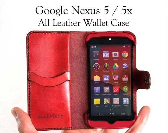 Nexus 5 Case Leather