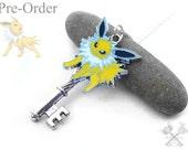 Eeveelution Pre-Order- Jolteon Key Necklace