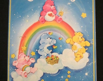 Vintage Kenner Care Bear Coloring Book 1982