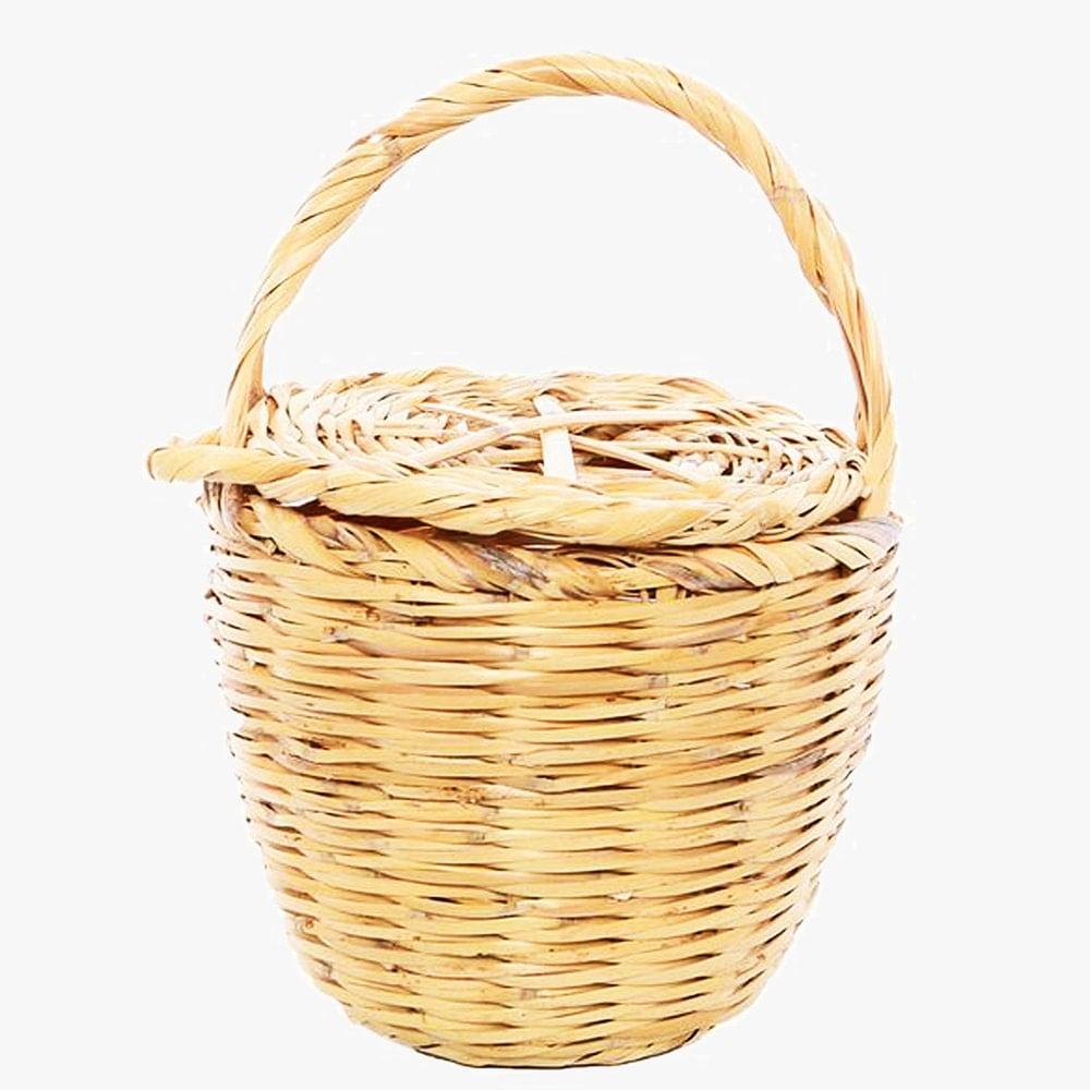 wicker basket with lid birkin basket jane birkin basket. Black Bedroom Furniture Sets. Home Design Ideas