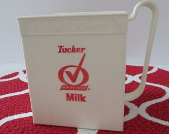 Vintage E. Z. Pour Milk Carton Holder
