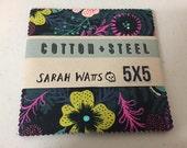 Cotton + Steel - Honeymoon by Sarah Watts - Charm Pack