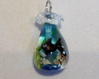 Fish in a Glass Bag - Blackfish