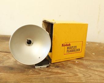 Vintage Photography Camera Accessories Kodak Duaflex Flasholder and Two Kodak Films