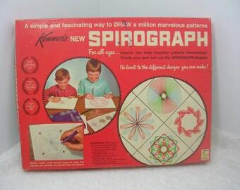 Vintage Kenner's Spirograph Set 1967 No. 401