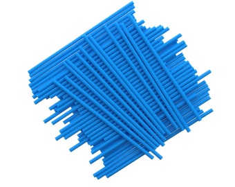 Blue  Lollipop Sticks,30 blue Cake Pop Sticks, Plastic Lollipop Sticks, BlueLolly Sticks, Pop Sticks, Sucker Sticks, Gold Wedding Sticks 30