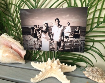 Starfish Picture Holder, Table Number Holder, Starfish Table Holder, Beach Wedding Table Number Holder, Beach Wedding, Beach Picture Holder