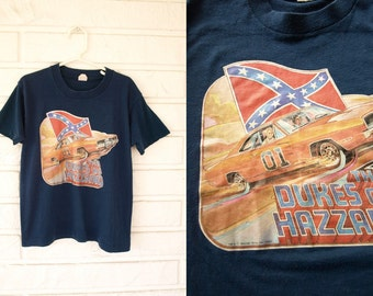 Vintage 1982 kids Dukes of Hazzard T-shirt  youth L