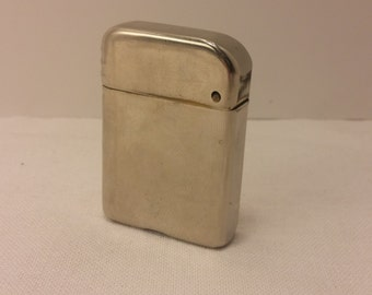 1940s Bowers No 10 Flip Top Lighter Made in USA - rehabbed with new flint, cleaned  - great daily user - SUPER CLEAN (BW003)