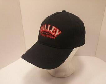 Vintage 1990s Snapback Baseball Cap - Valley Transportation -  Hipster, Trucker, OTR Trucking, Freight, Cargo, Retro, Mens Accessories