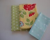 Fabric Scraps Assortment Cotton Fabric Mix Designer Fabric Remnants Craft Projects