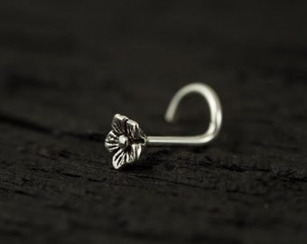 20gauge Tiny flower nose screw