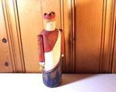 Patriotic Figurine Vintage Wolf Creek Primitive Folk Art Americana