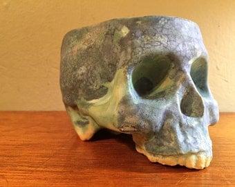 Ceramic Stoneware Skull Mug by Tony Furtado Neptune