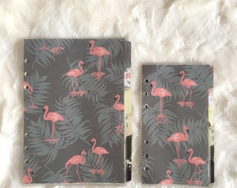 Cute Animal Dividers - Filofax Personal and A5 | Filofax dividers | Filofax Stationary