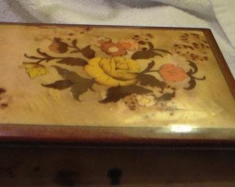 Inlaid wood jewelry,music box,Lara's Theme