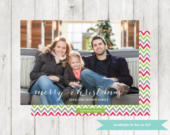 Printable Christmas Card | Holiday Digital File | Family Photo Card