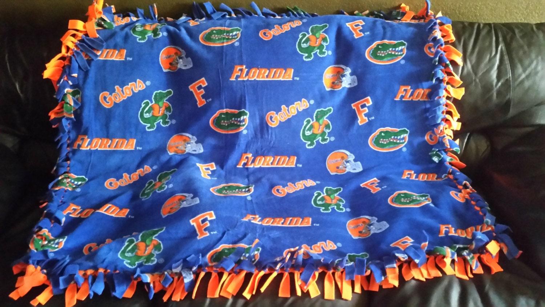 University Of Florida Gators Fleece Tie Blanket