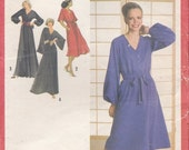 ON SALE 1970's Sewing Pattern - Simplicity 9212  Dress in Two Lengths Size 10 Uncut, Factory Folded