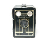 Vintage Target Brownie Six 20 Camera, Vintage Art Deco Brownie Camera