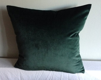 """Jade green 16"""" cushion cover,  pillow, scatter cushion."""