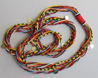 Maasai Beaded Warrior Necklace KBN04