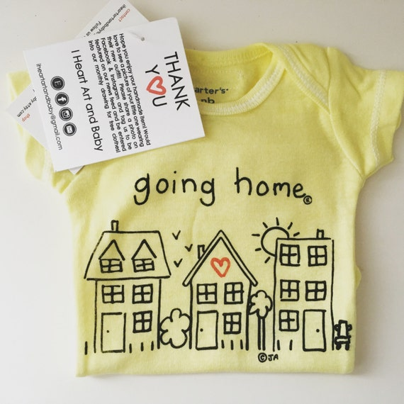 GOING HOME ® OUTFIT, Coming Home, Take Home, Just Born, Newborn Baby, Baby Shower Gift,  Baby Boy Baby Girl, Going Home Infant Bodysuit