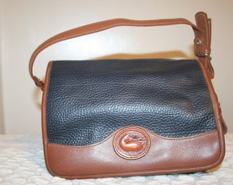 Vintage Dooney Bourke,dooney,dooney and bourke,leather bag vintage,dooney and bourke handbags,shoulder bag leather,leather purse,leather bag