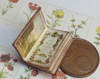 1:12 Miniature florist book