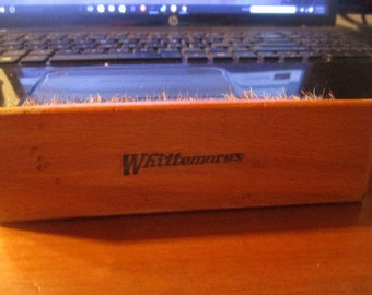 "Antique Vintage Whittemores Shoe Shine Brush 5 1/4"" Horsehair"