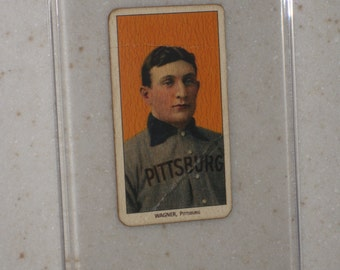1909 t206 honus wagner with sweet caporal cigarettes awesome vg card only 1 available in a screwdown case