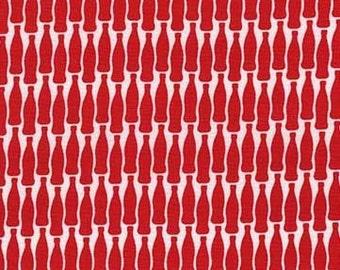 Lotsa Pop (Cherry) - Sodalicious - Emily Herrick - Michael Miller Fabric - 1 Yard