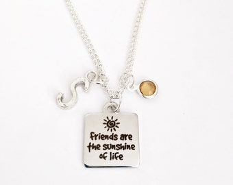 Personalized Friends Necklace