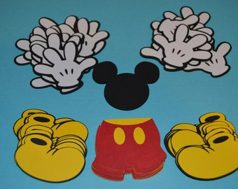 """Mickey Mouse Die Cuts (60) 2"""""""