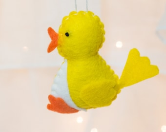Felt Ornament - Felt Duck Ornament