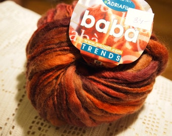 Adriafil Baba mega chunky yarn col. 059 - made in Italy - SALE - only 7.99 USD