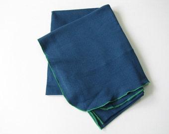 XL Baby cotton blanket - swaddling blanket - pima cotton blanket