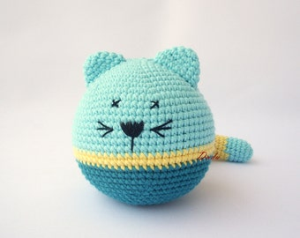 PDF  Pussy cat Crochet Pattern - Crocheted kittens,  DIY tutorial